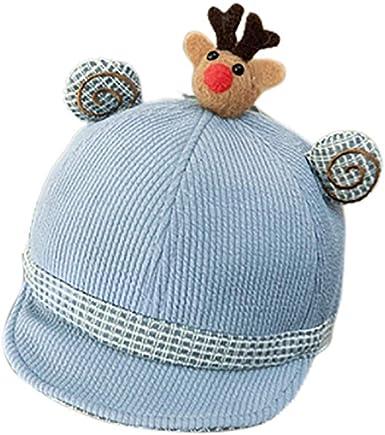Baby Kids Warm Winter Cute Cartoon Cap Toddler Knitted Beanie Hat Christmas