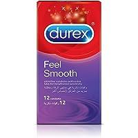 Durex Feel Smooth Condom - Pack Of 12