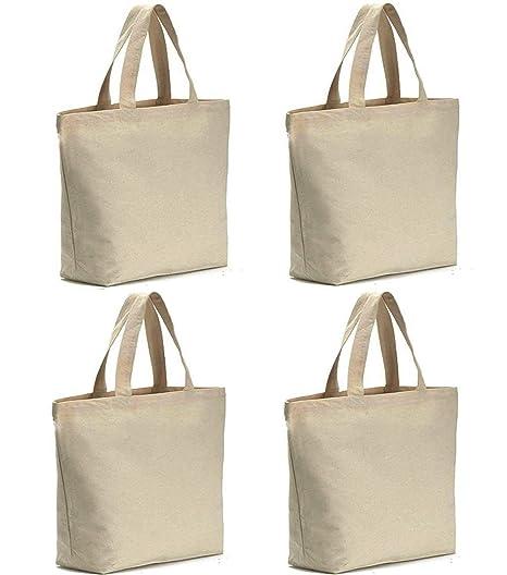 75d0ef786341 Axe Sickle 4 per pack 12oz Heavy Natural Canvas tote bag 16