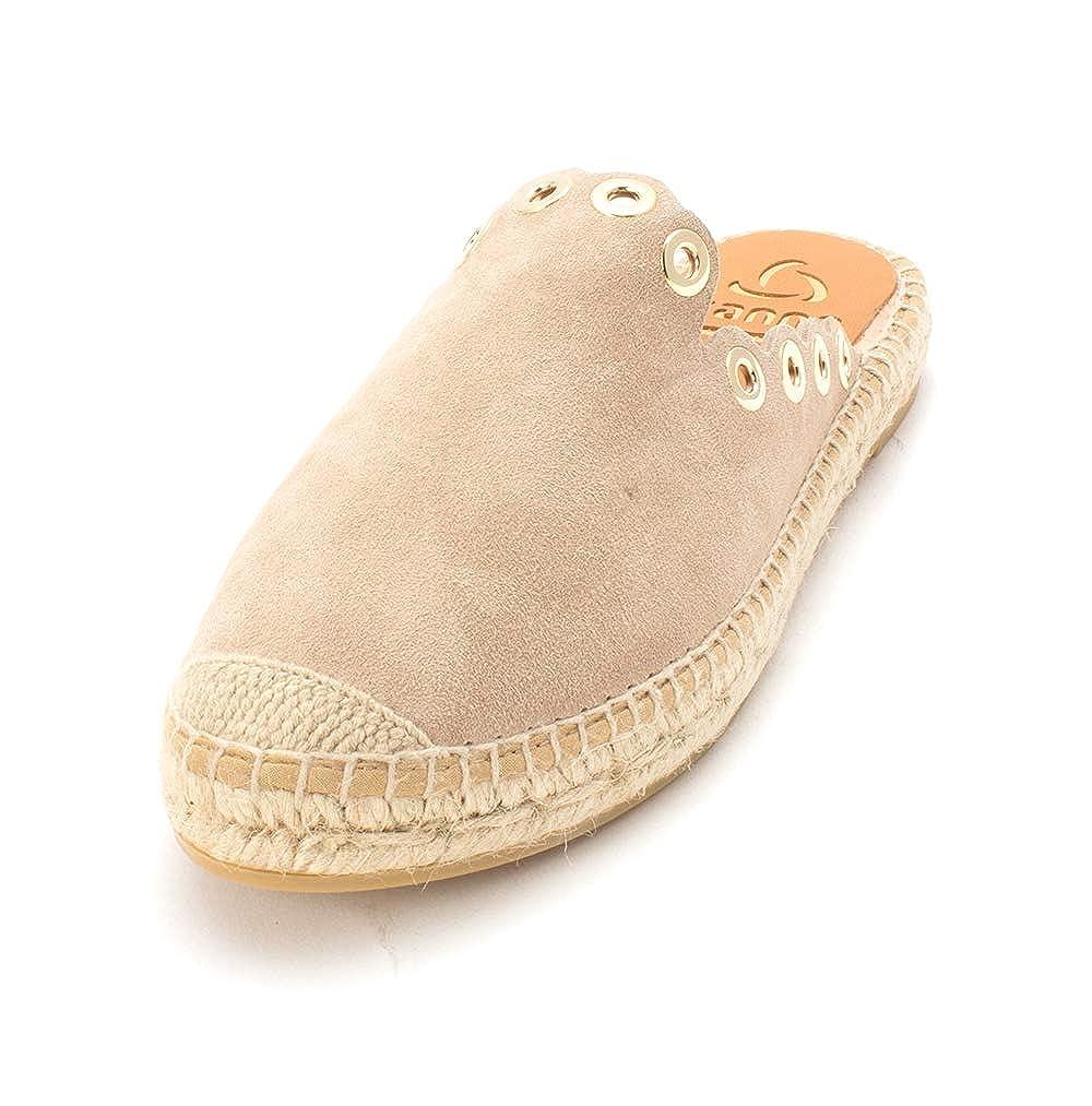 Kanna Schuhe Dora Sandalen Espadrilles Aus Wildleder Schwarz Damen  | Ab dem neuesten Modell  | Sale Online Shop  | Verschiedene Waren