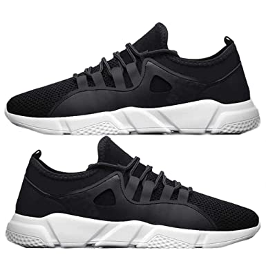 712523dd1b104 Caiuet Men Sport Shoes- Casual Mesh Cloth Lace-up Flat Heel Sporting ...