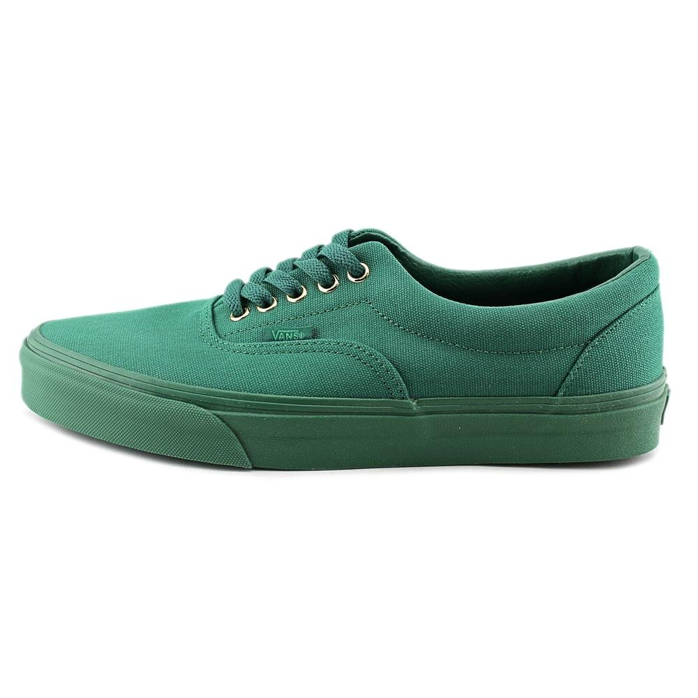 Vans Unisex Era Skate Shoes, Classic Low-Top Lace-up Style in Durable Double-Stitched Canvas and Original Waffle Outsole B013PU5HYU 10 B(M) US Women / 8.5 D(M) US Men|(Gold Mono) Verdant Green