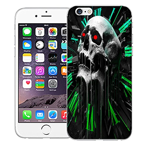 "Mobile Case Mate iPhone 6 Plus 5.5"" Silicone Coque couverture case cover Pare-chocs + STYLET - Vertex pattern (SILICON)"