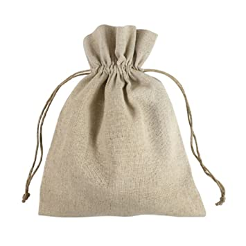 Warehouse produce linen and hemp-jute bags