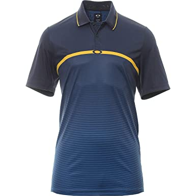 92c4ef00494f Amazon.com: Oakley Men' Aero Ellipse Polo: Clothing