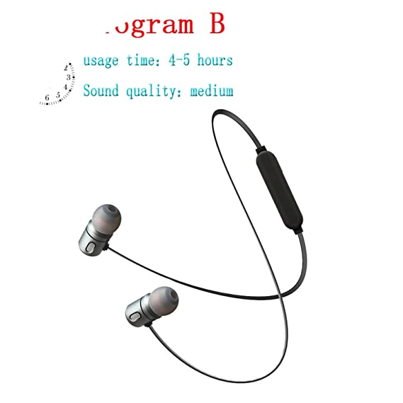 Amazon com: Wireless Earphone In Ear Magnetic Wireless