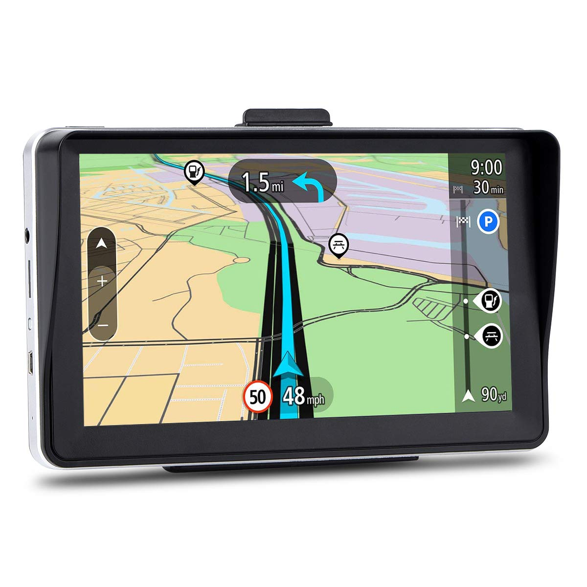 GPS Navigation for Car, 7 inches 8GB Lifetime Map Update Navigation System for Cars, Vehicle GPS Navigator by FULiYEAR