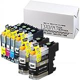 エコスロバキア ブラザー用互換 LC111 4色+ブラック2本 互換インク ICチップ付