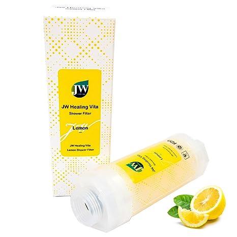 JW curación Filtro de ducha Vita (limón, lavanda, jazmín, rosa) contiene