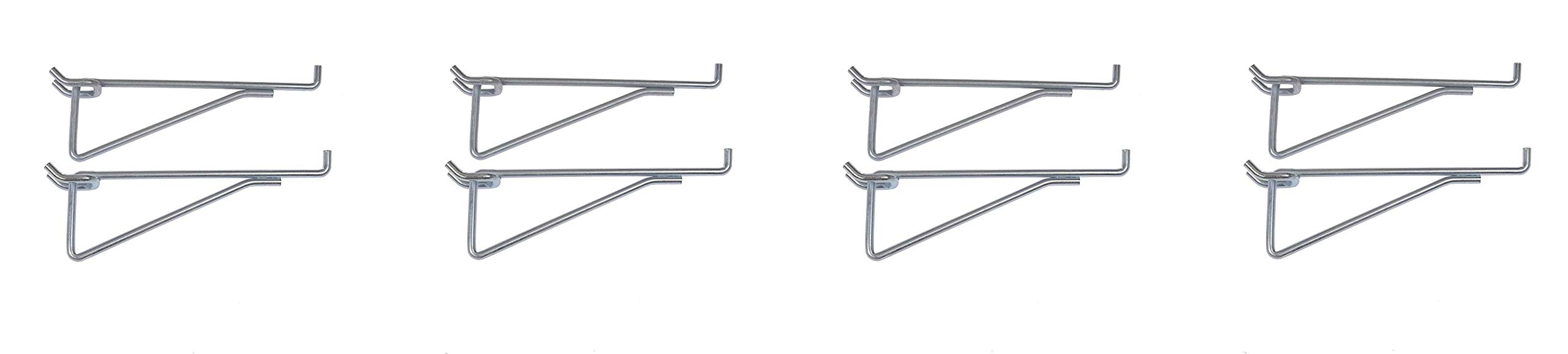 Dorman Hardware 4-9836 6-Inch Shelf Peghooks, 2-Pack (Fоur Расk)
