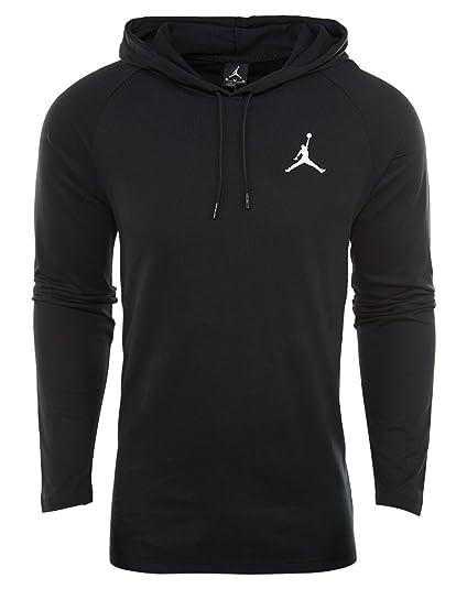 3b3a4bc60e40 Amazon.com  Nike Mens Jordan 23 True Hoodie Black White XL  Sports ...