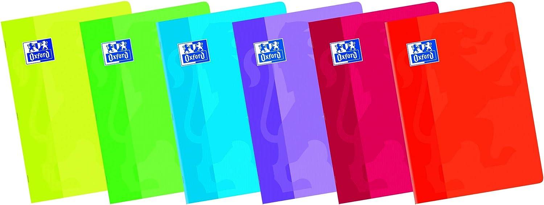 Oxford Classic 100105717 - Pack de 10 libretas grapadas de tapa blanda, A5+