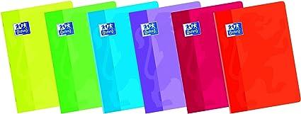 Oxford Classic 100102899 - Pack de 10 libretas grapadas de tapa blanda, A4, pauta 3.5 c/margen: Amazon.es: Oficina y papelería