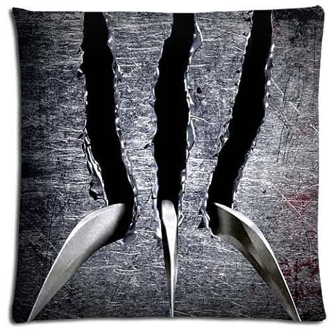 Zippered No-shift Softer Wolverine Bedding Pillow Cases Cotton - Polyester 18x18 inch 45x45 cm (Wolverine Xmen Bedding)