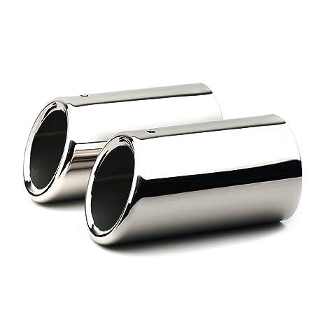 Embellecedor de tubo de escape, Sistema de escape silencioso, Acero