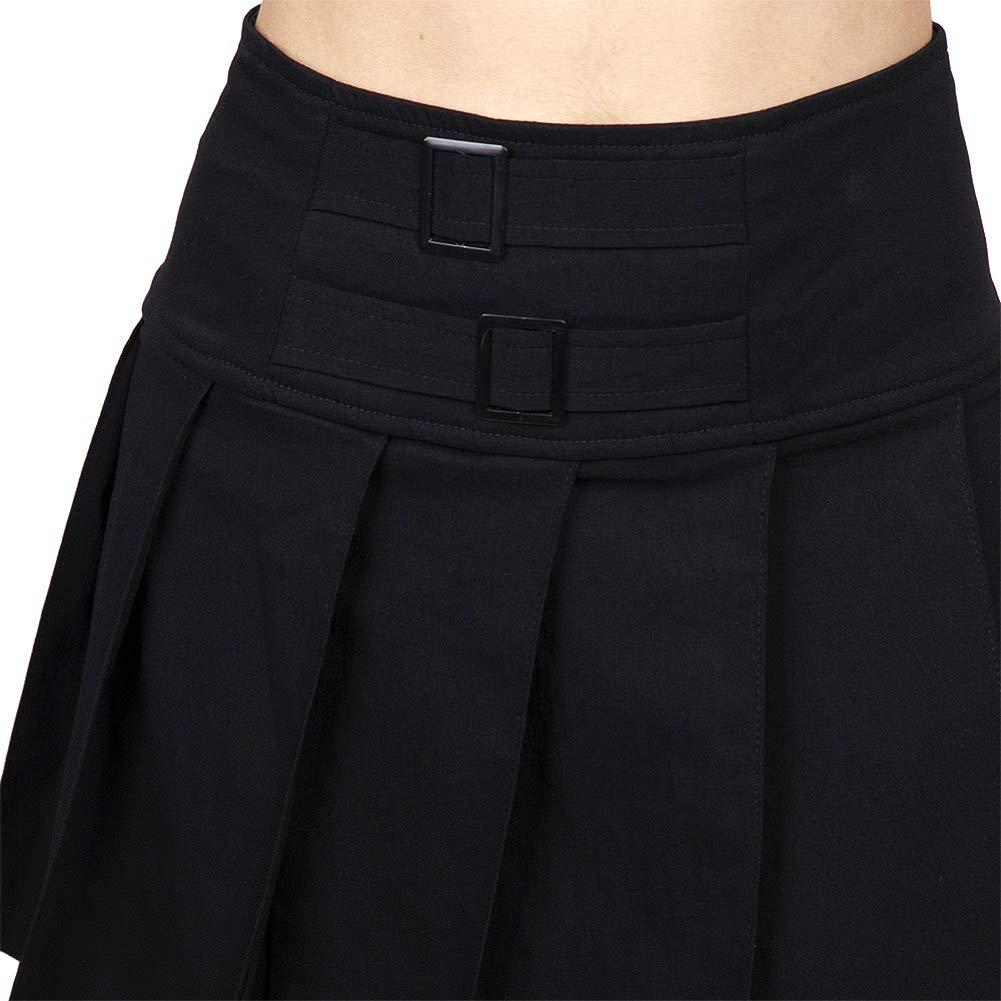 Jawbreaker Mini Falda de Tablas o Plisada Tipo Colegiala en Color ...