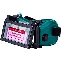 LESOLEIL Gafas de Soldadura - Gafas de Soldadura Auto Oscurecimiento Máscara de Soldador con DIN9-13 2 Sensores para TIG…