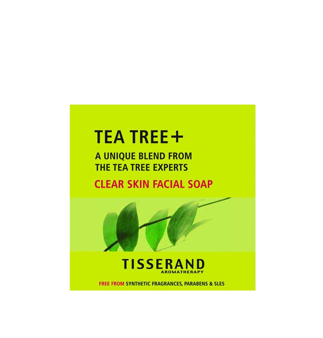 Tisserand Tea Tree Clear Skin Facial Soap, 3.5 Ounce