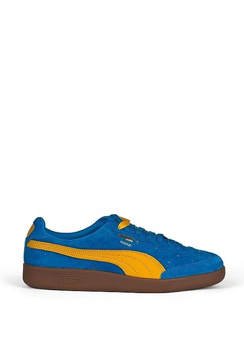 Puma Madrid 2L Zapatillas para hombre, azul / amarillo, 44.5: Amazon.es: Deportes y aire libre