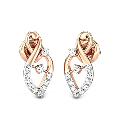 Buy Candere By Kalyan Jewellers 18KT Rose Gold and Diamond