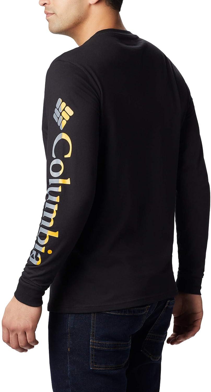 Columbia Lodge Camiseta De Manga Larga Estampada Hombre