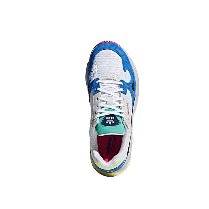 new concept 061b7 35966 Amazon.com adidas Falcon Womens in Cloud WhiteBlue, 10 Shoes