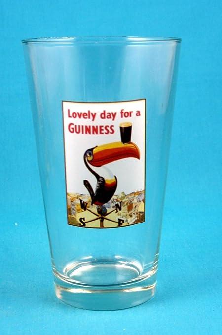 Guinness Gilroy Toucan Pint Glass
