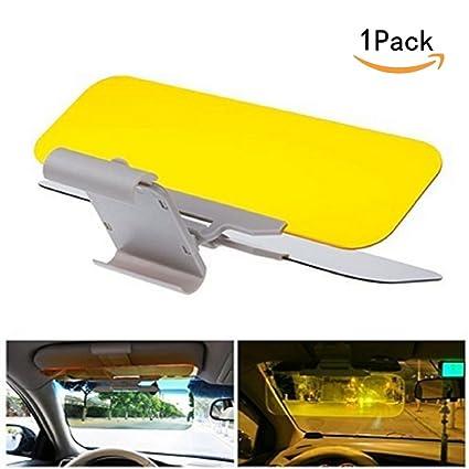 JKLcom Car Windshield Visor Car Sun Visor Anti-glare Visor Car Sun Visor  Extender Night 673d2e75c6d