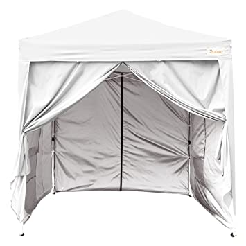 Kingbird 8 x 8 ft Easy Pop up Canopy Waterproof Party Tent 4 Removable Walls Mesh  sc 1 st  Amazon.com & Amazon.com : Kingbird 8 x 8 ft Easy Pop up Canopy Waterproof Party ...