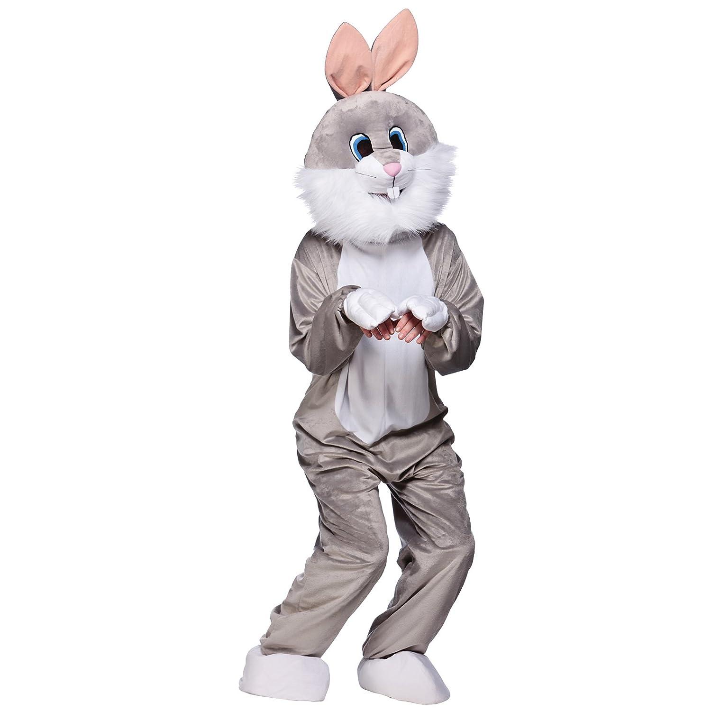 Unisex Mascot Animal Animal Animal Sports & Charity Event Fancy Dress Costume - Grau Rabbit f7ae90