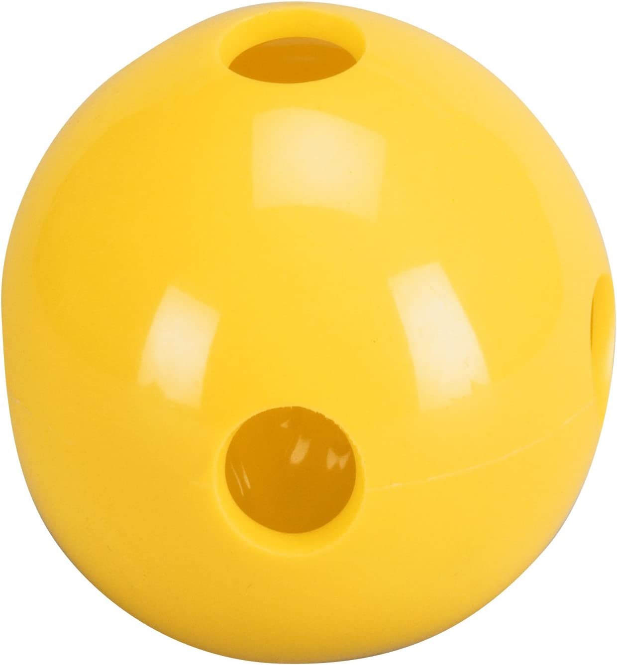 Total Control Sports Hole Ball (Pack of 48), Yellow