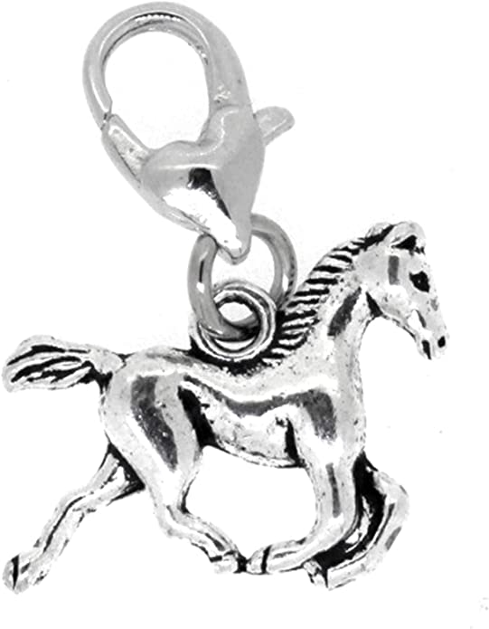 Best Wing Jewelry Clip-onSea Horse Dangle Charms