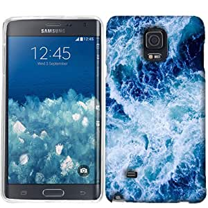 For Samsung Galaxy Note Edge Ocean Wave Case Cover