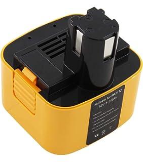 2x Batterie 12v 3300mah pour panasonic ey6601 ey6803 ey6902 ey6903 ey7201
