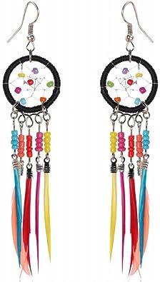 WANGLETA Stud Earrings gota aretes de Regalo para la mujer ...