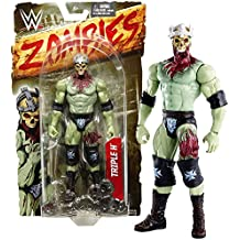 Mattel Year 2016 World Wresling Entertainment WWE Zombies Series 7 Inch Tall Figure - Zombified TRIPLE H with Crown