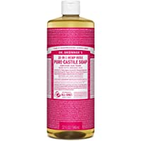 Dr. Bronner?s Pure-Castile Liquid Soap - Rose, 32 oz