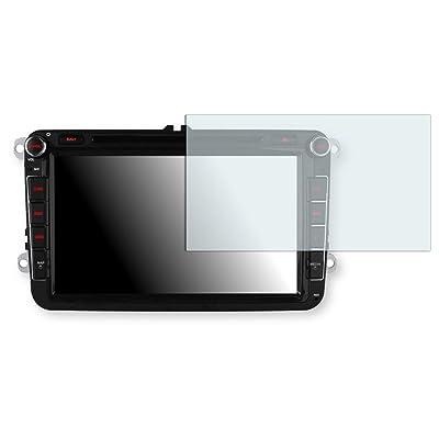"1 x protectores pantalla Golebo para Xtrons 8 Zoll Autoradio. Lámina protectora adhesiva invisible ""Crystal Clear"". Fabricado en Alemania."