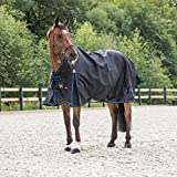 Horze Avalanche 1200D Turnout sheet Black 72