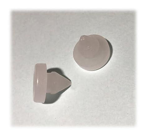 Ihave freno embrague Pedal antideslizante plástico tapón para Honda Acura Accord y Civic Prelude 46505-