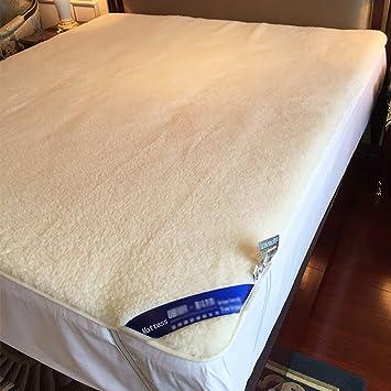 FUMT Colchones,Lana Plegable Protector de colchón Esteras del Tatami Estera de meditación Dormitorio estudiantil-Short Plush 150x200cm(59x78.7inch): ...
