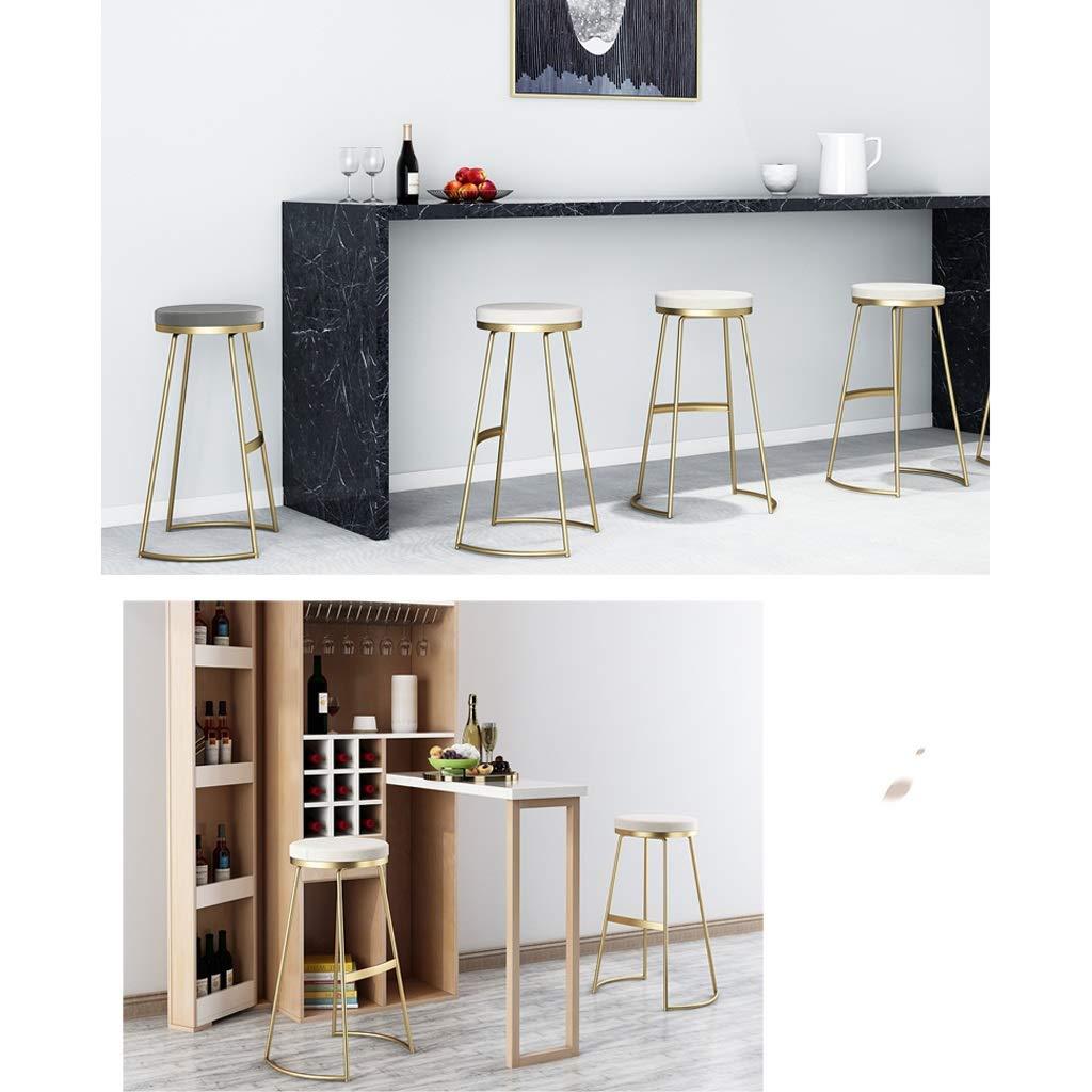 Byx- Nordic Hierro Forjado Taburete de Bar para el hogar ...