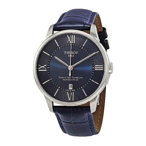 Tissot CHEMIN DES TOURELLES POWERMATIC 80 T099.407.16.048.00 Reloj Automático para hombres: Amazon.es: Relojes