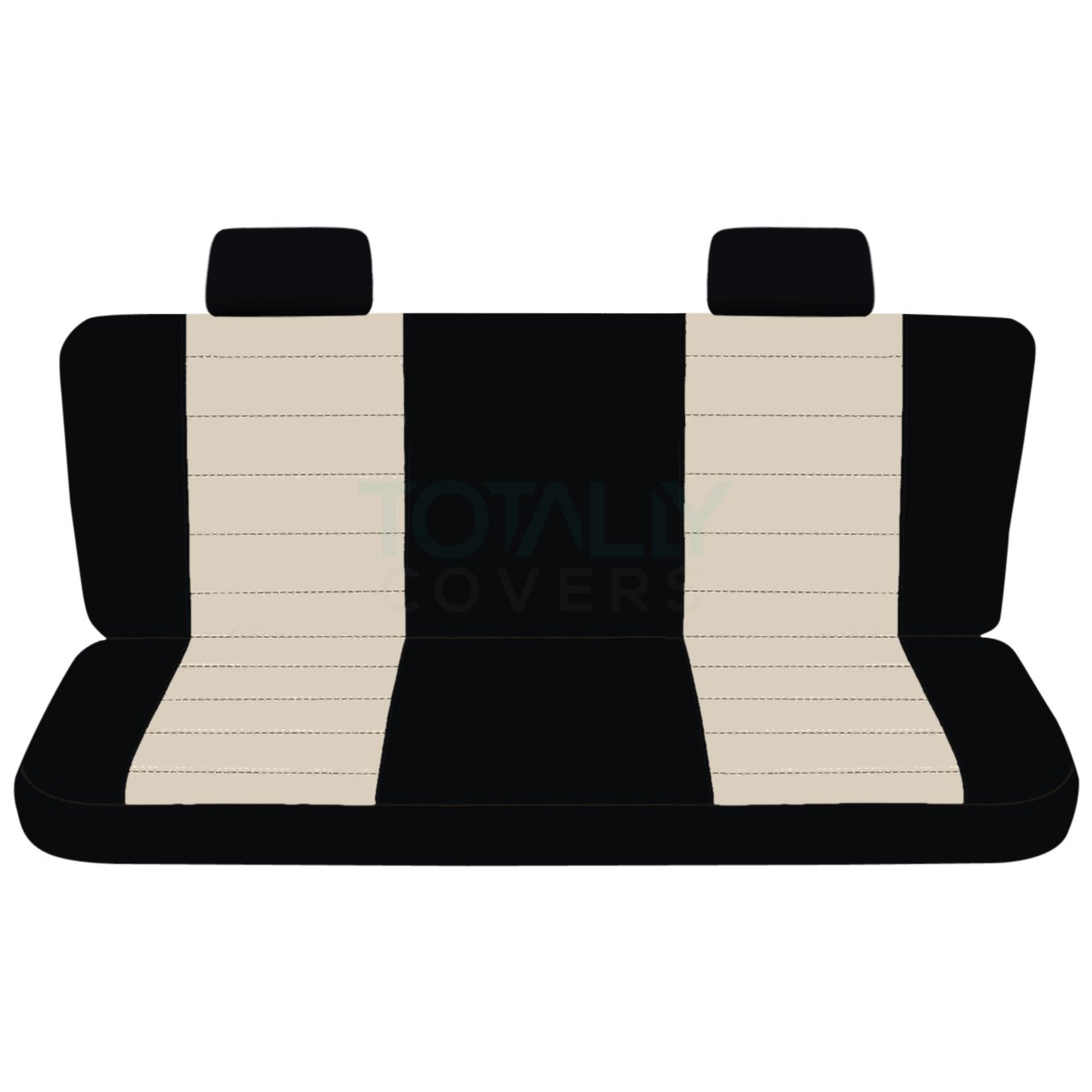 21 Colors Totally Covers Fits 2004-2009 Ford F-150 Two-Tone Truck Seat Covers 2005 2006 2007 2008 F-Series F150 Back w//wo Center Armrest: Black /& Charcoal Rear 60//40 Split Bench