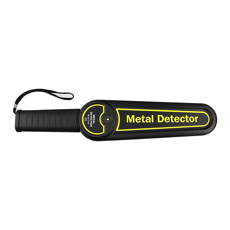 all-sun detector de metales de mano de seguridad varita escáner corporal: Amazon.es: Jardín