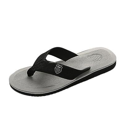 HommeUnisexes Sandales Pantoufles Tongs Plage Femmes De Loisirs Bazhahei Chaussures Hommes cJFK1Tl