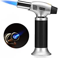Arespark Butane Torch, Professional Culinary Torch Refillable Portable Blow Torch Lighter with Safety Lock & Adjustable…
