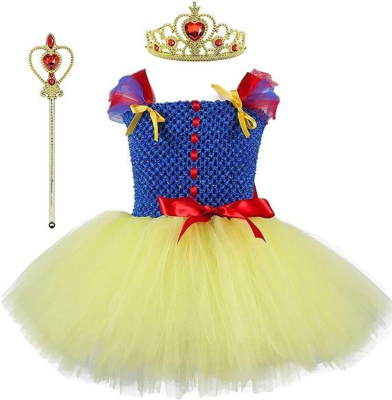 Tutu Dreams Disfraz de Reina de la Nieve niñas de 1 a 8 años con ...
