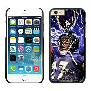 NFL Case Cover For SamSung Galaxy S6 Baltimore Ravens ray rice Black Case Cover For SamSung Galaxy S6 Cell Phone Case ONXTWKHB0392