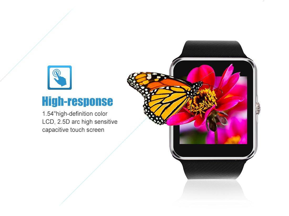 StarryBay - Reloj Inteligente con Bluetooth, Resistente al Sudor ...